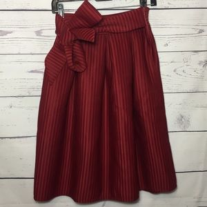 Dresses & Skirts - Boutique Aline Red Holiday Skirt